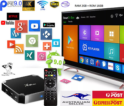 AU49.95 • Buy  Smart Tv Box X96MINI Quad Core Android 9.0 4K HDMI WIFI