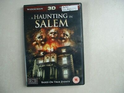 A Haunting In Salem Dvd 2d/3d • 0.99£