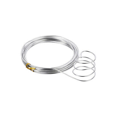 $ CDN9.79 • Buy Aluminum Wire 16 Feet 2mm Dia. Flexible Metal Wire Silver Tone For DIY Crafts