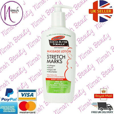 Palmers Cocoa Butter Formula Massage Lotion For Stretch Marks 250ML • 6.99£