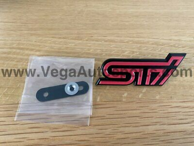 $40.08 • Buy  STI  Front Grille Badge Emblem Ornament To Suit Subaru Impreza WRX 2005