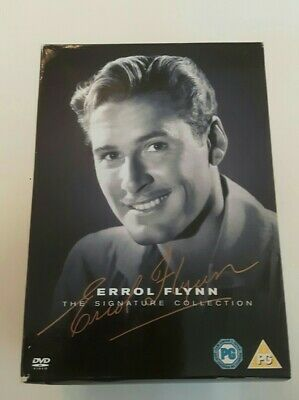 Errol Flynn The Signature Collection DVD Boxset. 6 DVDS. Nice Condition.  • 14.99£