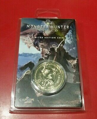 AU35 • Buy Monster Hunter World Limited Edition Gold Coin - Individually Numbered