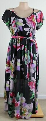 AU38 • Buy Bright & Summery CITY CHIC Flutter Sleeve Maxi Dress- Size M (18)