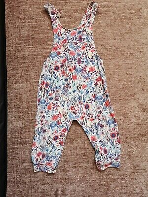 NEXT Baby Girl Dungarees 12-18 Months • 1.60£