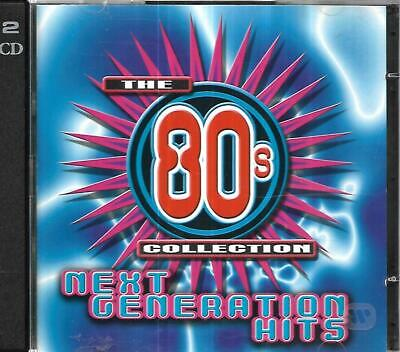 Time Life - 80's Collection -  Next Generation Hits - 2 CD Set • 3£