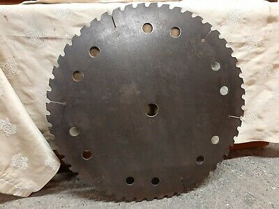 Large Antique Rip Saw Blade / Industrial Decor. • 29.99£