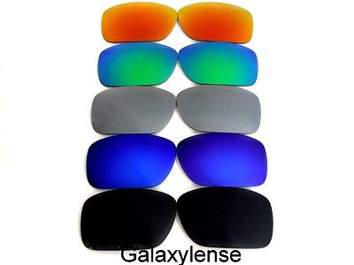 Galaxy Replacement Lenses For Oakley Ten-X Black&Blue&Grey&Green&Red 5 Pairs • 19.13£