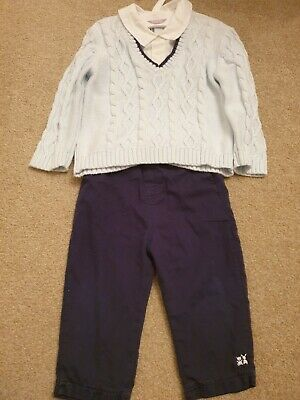 Emile Et Rose Boys Outfit 12 Months Baby Boy • 9£