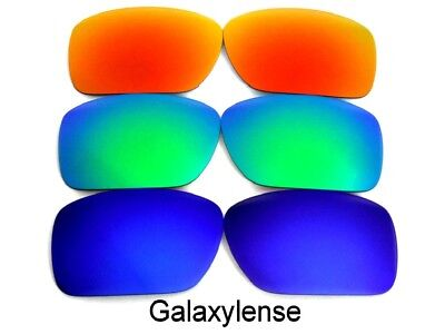 Galaxy Replacement Lenses For Oakley Ten-X Sunglasses Blue&Green&Red • 12.50£