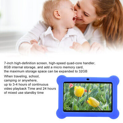 AU58.77 • Buy 7 In  HD Tablet PC 1+8GB Android Pad Quad Core Wifi Camera Children 1024x600
