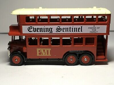 Lledo,Potteries Motor Traction Bus Co,Evening Sentinel. • 2.60£