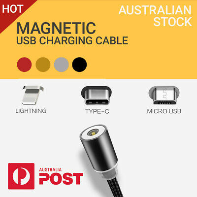 AU5.90 • Buy Magnetic Lightning Charging Cable Apple IPhone 11 Pro XS Max 7 XR 8 6S SE 5