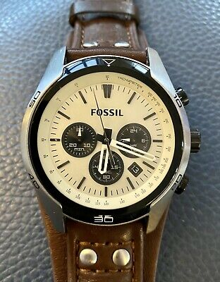 View Details Fossil Coachman Watch, In Good Condition, Recent Battery Replacement. • 35.00£
