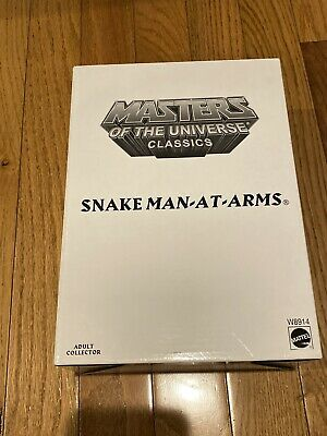 $40 • Buy Masters Of The Universe Classics Snake Man-At-Arms With Mailer MOTU Man At Arms
