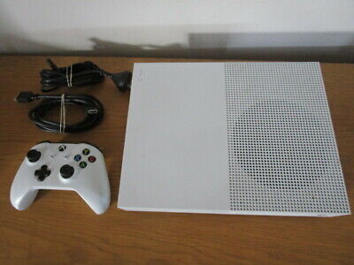 AU335 • Buy XBox One S 500GB White Console Controller Cables Games Xb1 Xbox One Microsoft