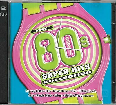 Time Life - The 80's Collection - Super Hits - 2 CD Set • 2.80£