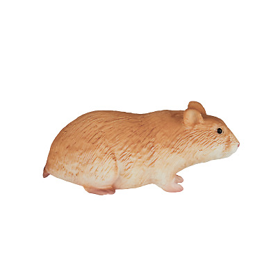 £6.75 • Buy .Mojo HAMSTER Pet Figure Toy Animal Models Plastic Cute Figurine Collectable NEW