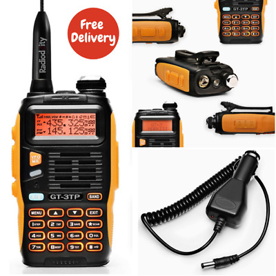 Baofeng GT-3TP Mark-III Walkie Talkie VHF 2 Way Radio Dual Band 8W/4W/1W UHF Car • 41.89£