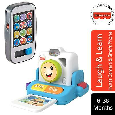 Fisher-Price Laugh & Learn Click & Learn Instant Camera & Smart Phone • 14.99£