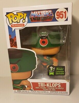 $19.21 • Buy 🟩Funko Pop! Masters Of The Universe  Tri-Klops  #951 2020 ECCC Exclusive