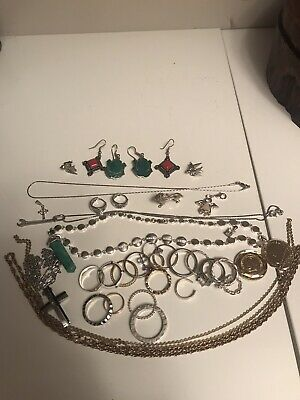 Jewellery Joblot Bundle Vintage And Modern Costume Jewellery. • 4.64£