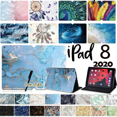 For Apple IPad 2020 8 8th Generation 10.2  Leather Flip Smart Case Stand Cover • 8.98£