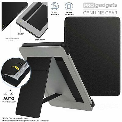 AU29.99 • Buy Genuine MOKO Leather Folio Stand Strap Cover For Kindle Paperwhite 4 10th Case