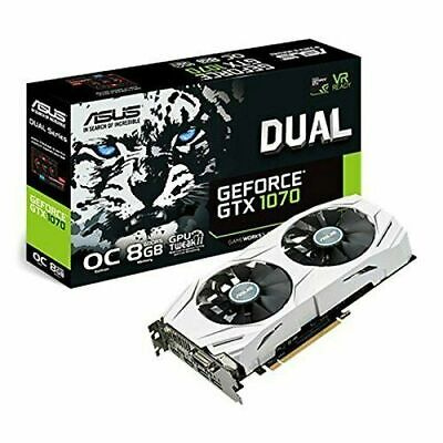 $ CDN399 • Buy ASUS GeForce GTX 1070 8GB GDDR5 Graphics Card (DUALGTX1070O8G)