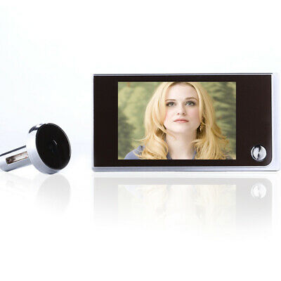 3.5 LCD WiFi Smart 120° Peephole Viewer Door Eye Night-Vision Camera DoorBell • 29.65£