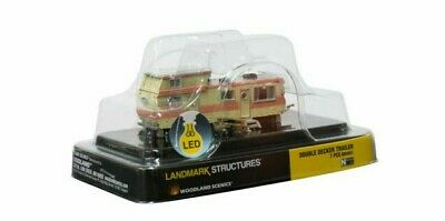 $ CDN44.34 • Buy Woodland Scenics 4951 Double Decker Trailer Mobile Home LED Lighted N Scale