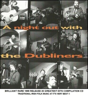 The Dubliners A Very Best 20 Greatest Hits Collection Traditional Irish Folk CD • 3.95£