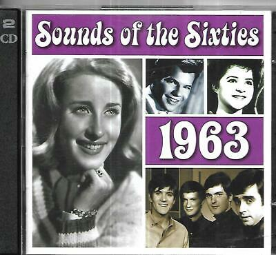 Time Life - Sound Of The Sixties - 1963 - 2 CD Set • 8£