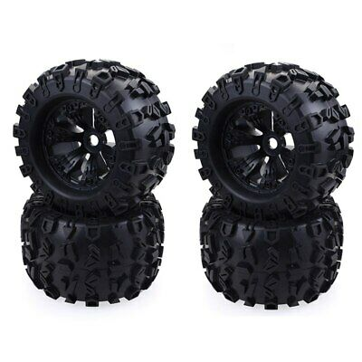 £65.99 • Buy 1/8 Monster Truck 170mm Wheels Tires For Redcat Rovan HPI Savage XL MOUNTED HSP