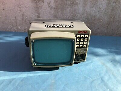 Vintage Nasa World Video Navtex  Super Rare ( Untested ) • 60£