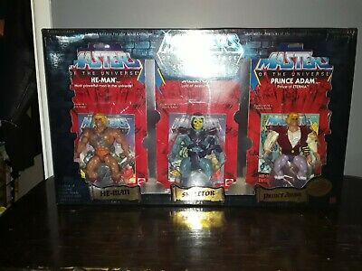 $299 • Buy MOTU Masters Of The Universe He-man Commemorative Series Limited Edition 5 Pack