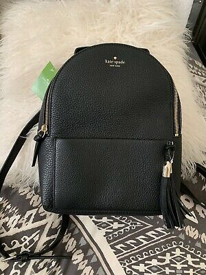 $ CDN268.15 • Buy Kate Spade Atwood Place Bradley Sml Leather Colorblock Backpack Orig Price $328