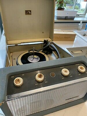 Vintage HMV Record Player And Vinyl Collection • 11.50£