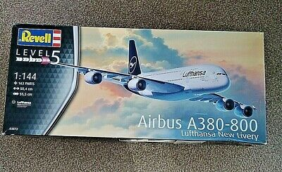 Revell 03872 AIRBUS A380-800 Lufthansa New Livery - Brand New. • 13£