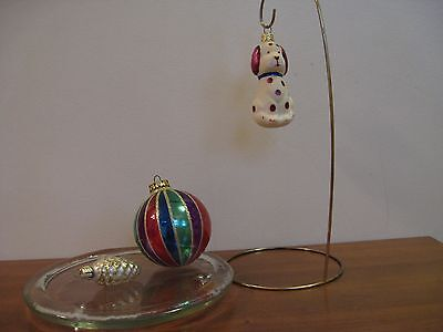$ CDN9.99 • Buy Vintage Mix Christmas Ornaments, Lot Of 3, Made In Poland +