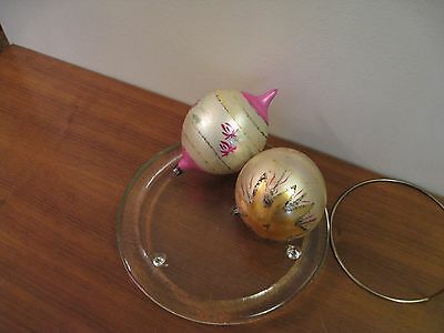 $ CDN9.99 • Buy Vintage Christmas Ornaments, Lot Of 2, Made In Poland.
