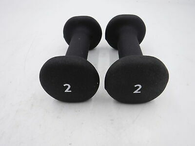 $ CDN48.76 • Buy Peloton 2 LB Dumbbells Black Neoprene Coated Set