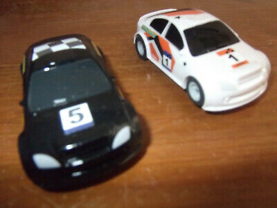 Scalextric Micro 1:64 Scale Cars From The Rally Racers Set. • 8£