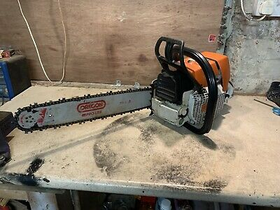 "Stihl MS460 Chainsaw 20"" Oregon Bar And Chain 2011 • 500£"