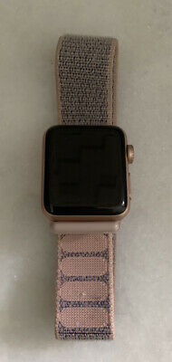 $ CDN150.27 • Buy Apple Watch Series 3 - Rose Gold With Pink Sand Sport Band (GPS + Cellular) -...