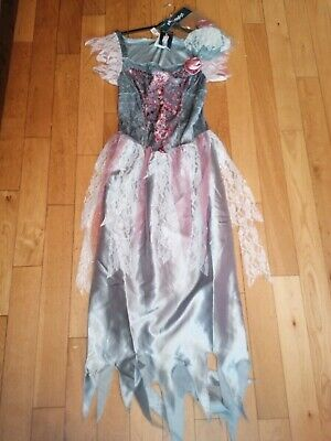 *george* Halloween Fancy Dress Zombie Bride Prom Princess Outfit Costume Bnwt • 9.99£