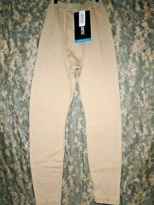 $12.99 • Buy US Military Polartec Gen III Tan Thermal Cold Weather Drawers Pants XSMALL-SHORT