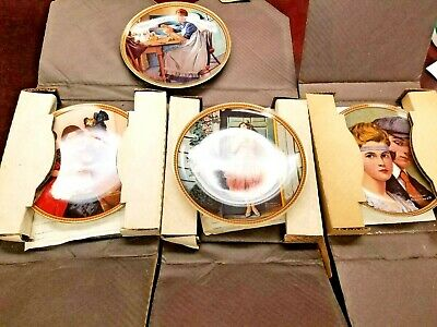 $ CDN53.32 • Buy NORMAN ROCKWELL Knowles REDISCOVERED WOMEN Series 3 Plates