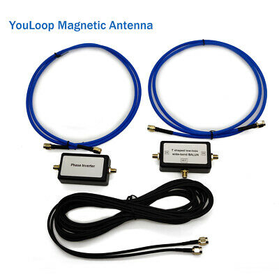 AU41.99 • Buy YouLoop Portable Passive Magnetic Loop Antenna For HF And VHF Magnetic Antenna