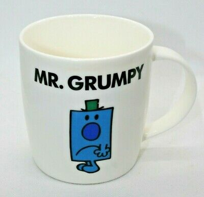Mr. Grumpy Coffee/Tea Mug Mr. Men 2015 Roger Hargreaves Sanrio Company • 9.99£